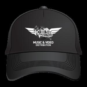 KES Network Black B&W Baseball Cap