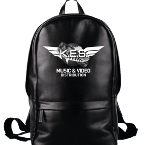 KES Network B&W Logo on BackPack
