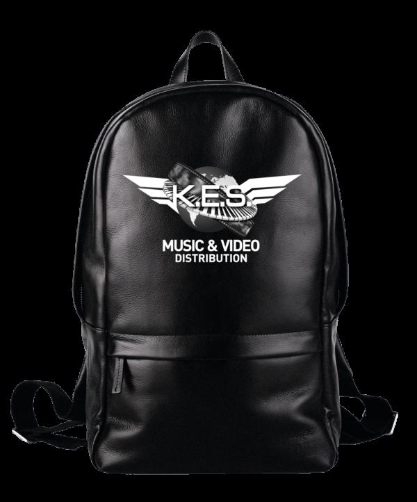 KES Network B&W Logo on BackPack