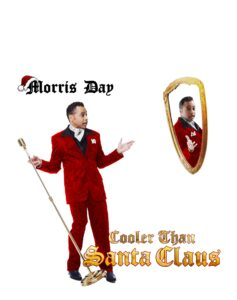 Morris Day Cooler Than Santa Claus Cover